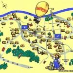 川西町マップ