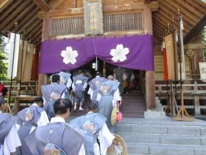 士別神社祭